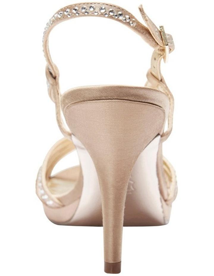 Nina Bobbie Champagne Jolie Satin Sandal image 6