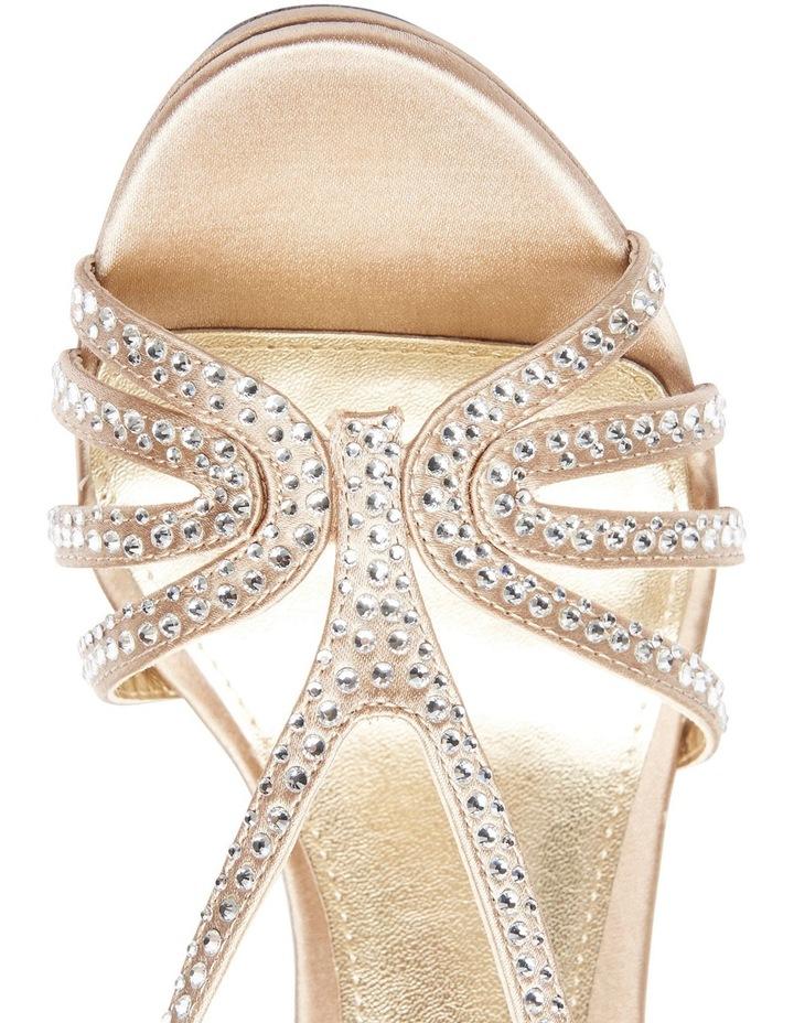 86c0ca22c6c9 Nina Bobbie Champagne Jolie Satin Sandal image 8
