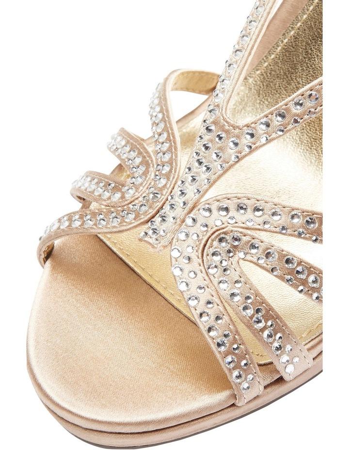 Nina Bobbie Champagne Jolie Satin Sandal image 1