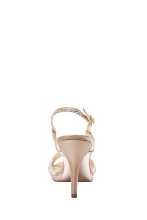 Alan Pinkus - Nina Bobbie Champagne Jolie Satin Sandal