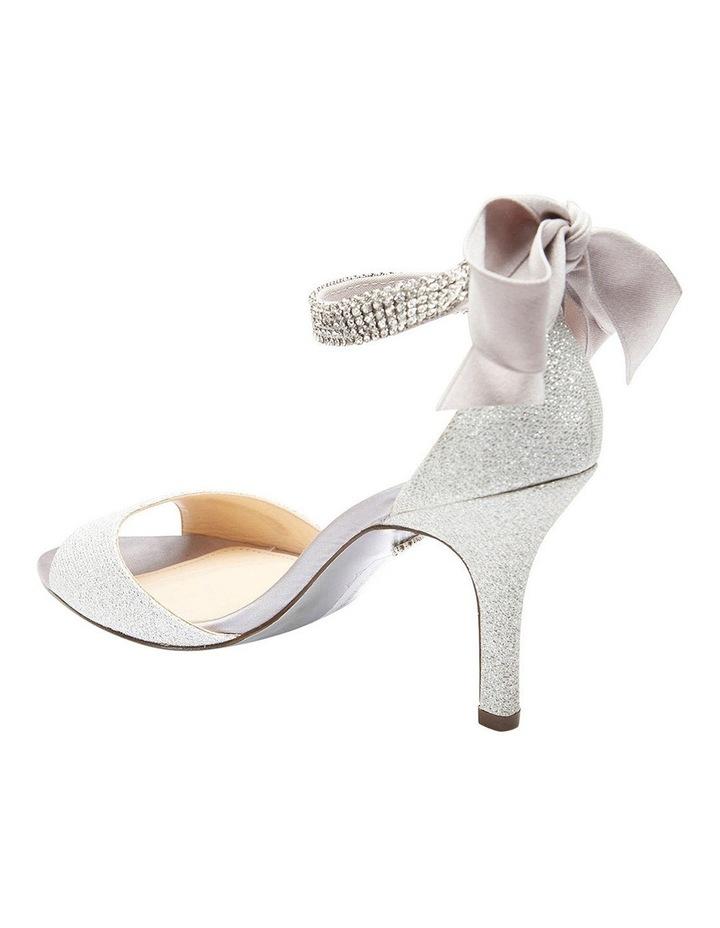 Nina Vinnie Silver Bliss Satin Sandal image 4