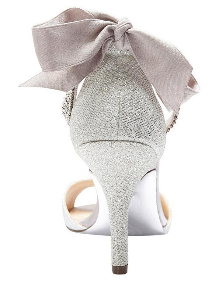 Nina Vinnie Silver Bliss Satin Sandal image 5