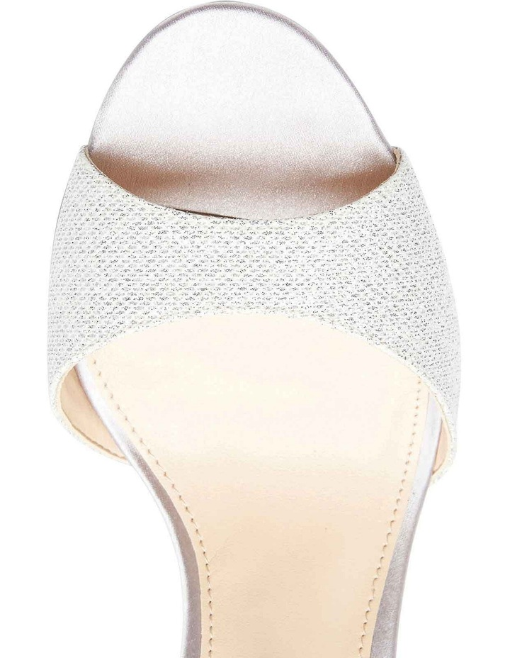 Nina Vinnie Silver Bliss Satin Sandal image 7