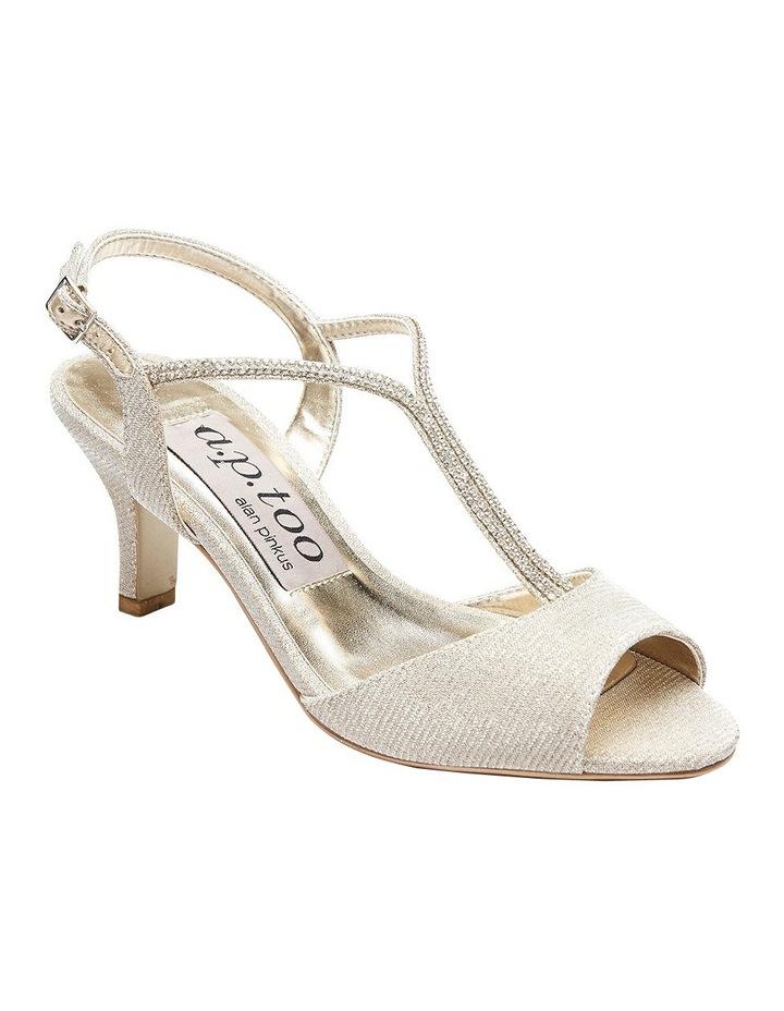 A.P.Too Delicia Nude Glimmer Sandal image 2
