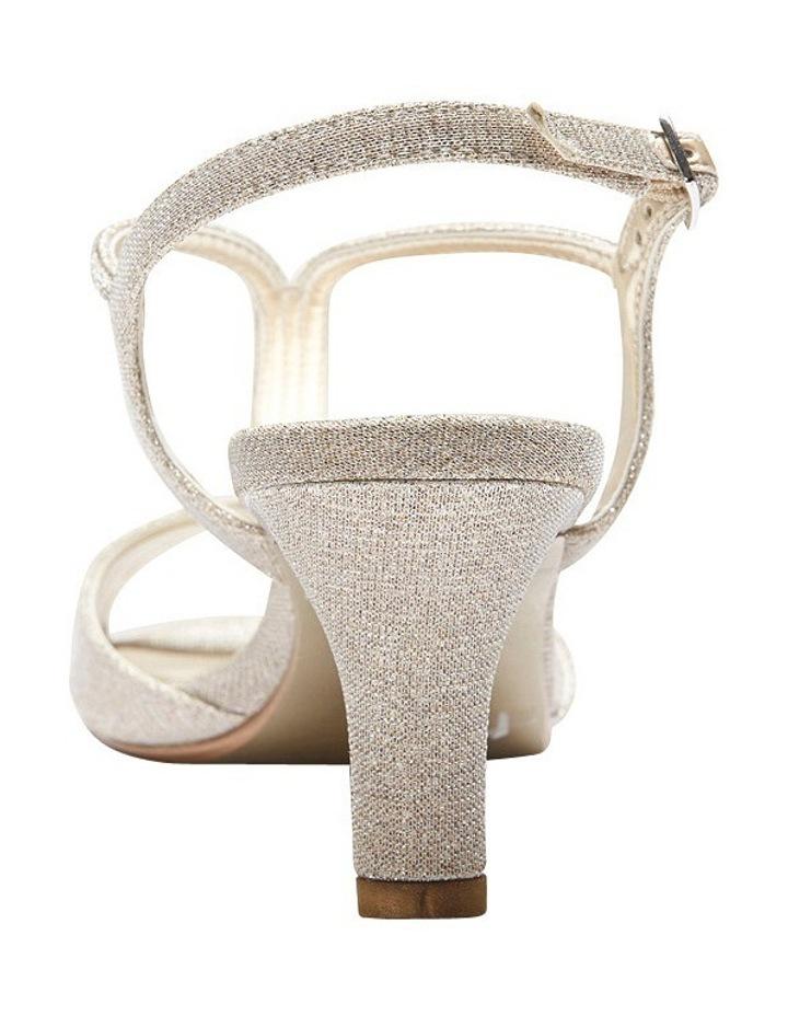 A.P.Too Delicia Nude Glimmer Sandal image 5