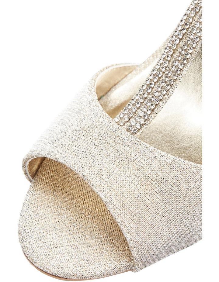 A.P.Too Delicia Nude Glimmer Sandal image 8