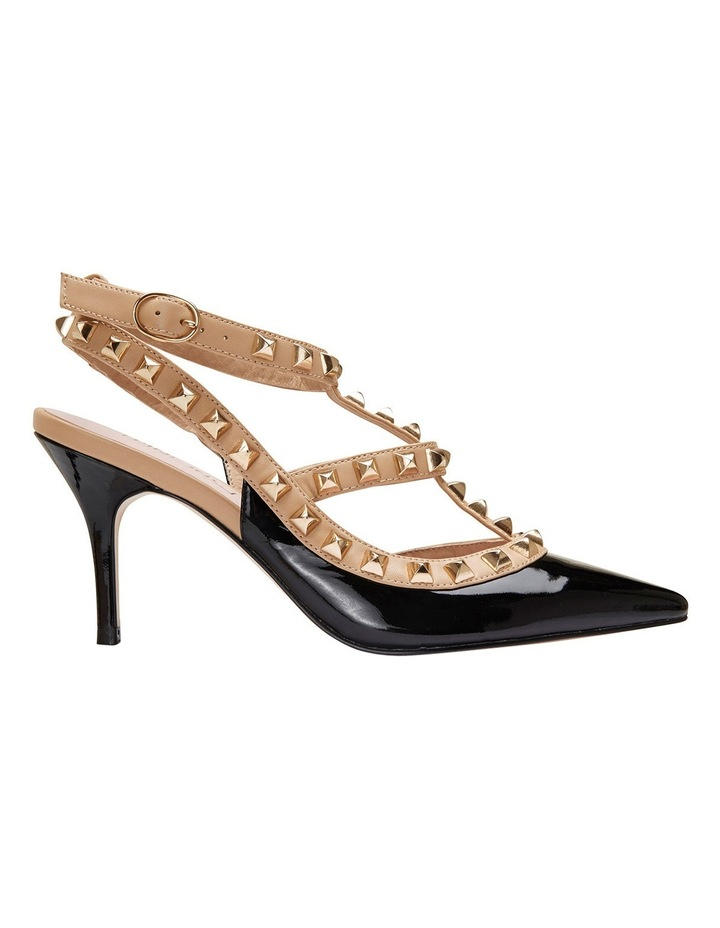 Pink Inc Sphinx Black Patent/Nude Pump image 1