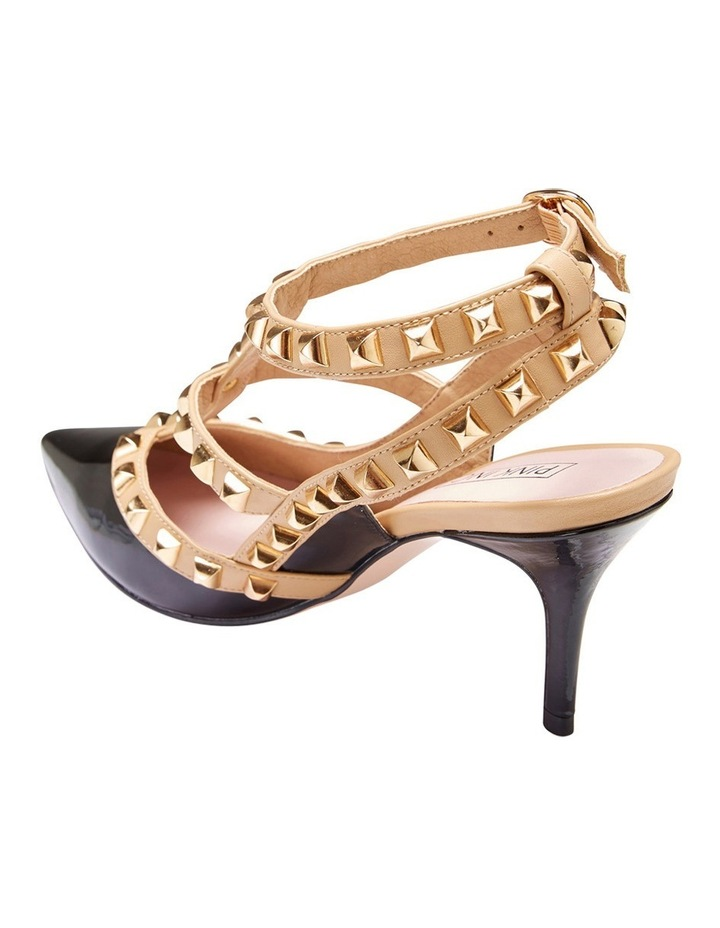 Pink Inc Sphinx Black Patent/Nude Pump image 4