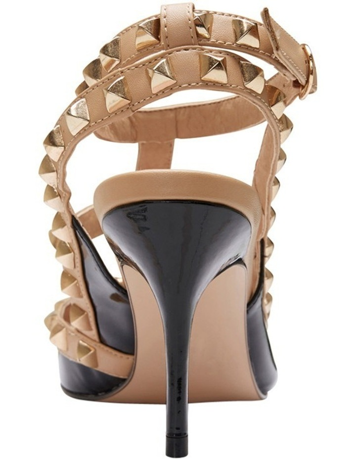 Pink Inc Sphinx Black Patent/Nude Pump image 5
