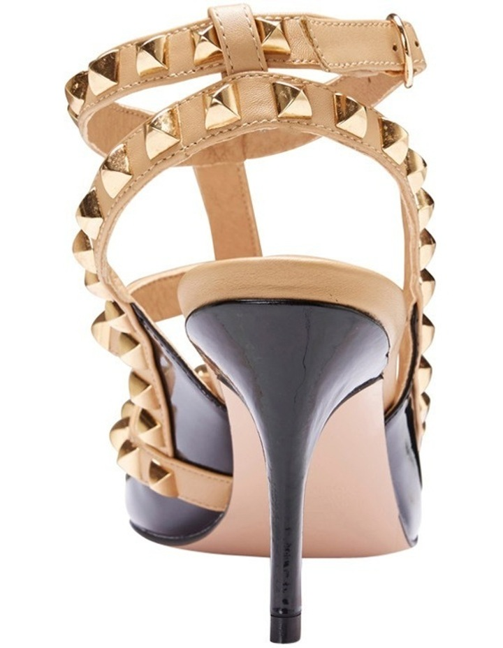 Pink Inc Sphinx Black Patent/Nude Pump image 6