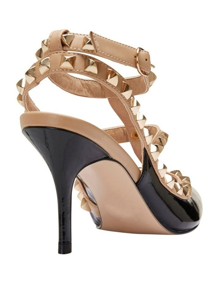 Pink Inc Sphinx Black Patent/Nude Pump image 8