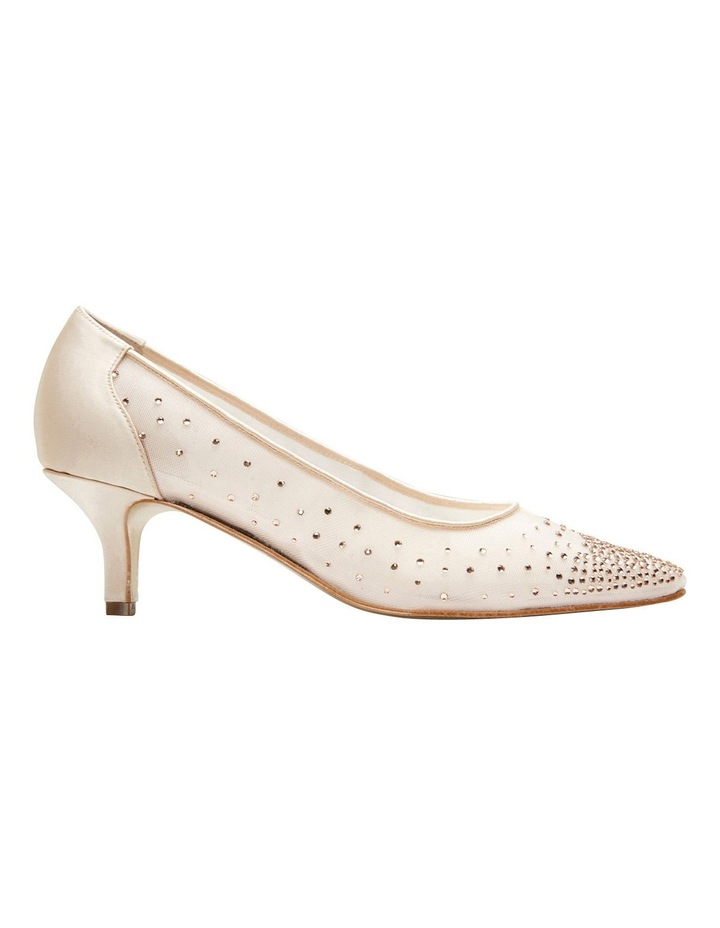 A.P.Too Spritz Baby Pink Satin Pump image 1