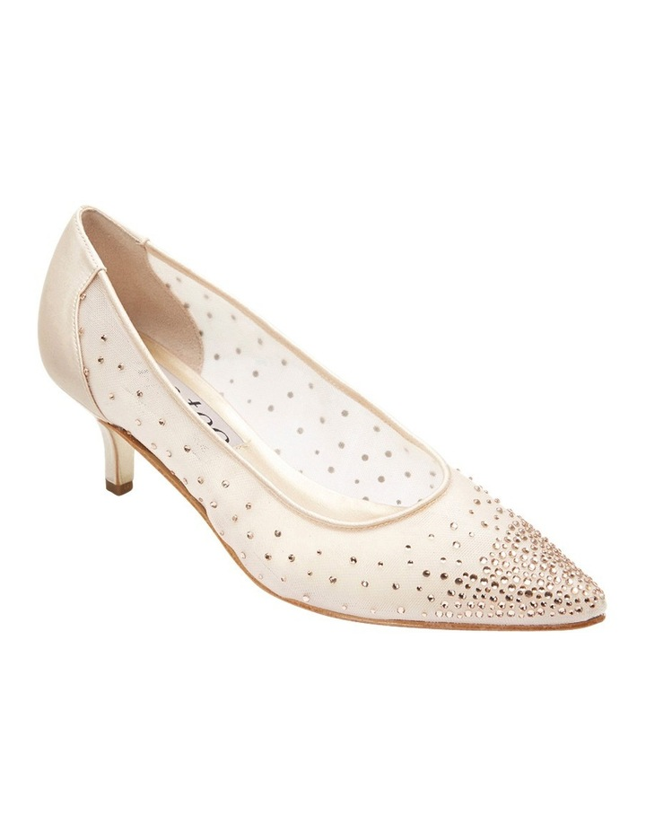 A.P.Too Spritz Baby Pink Satin Pump image 2