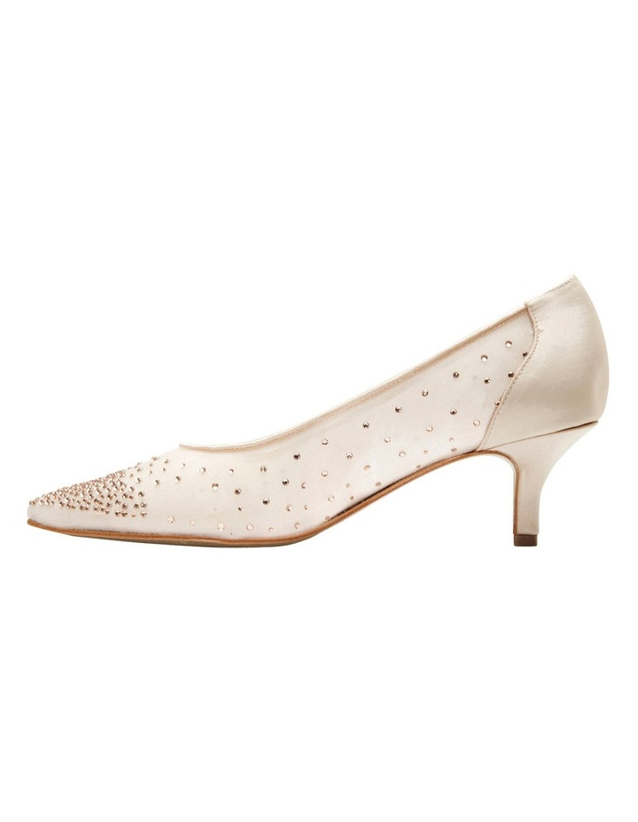 A.P.Too Spritz Baby Pink Satin Pump image 3