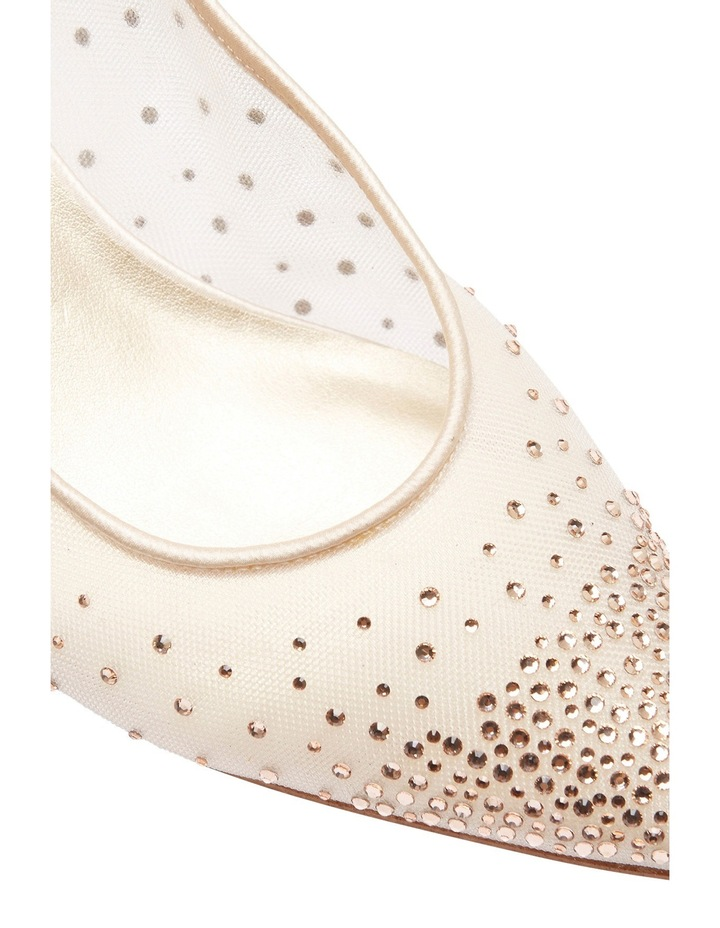 A.P.Too Spritz Baby Pink Satin Pump image 7
