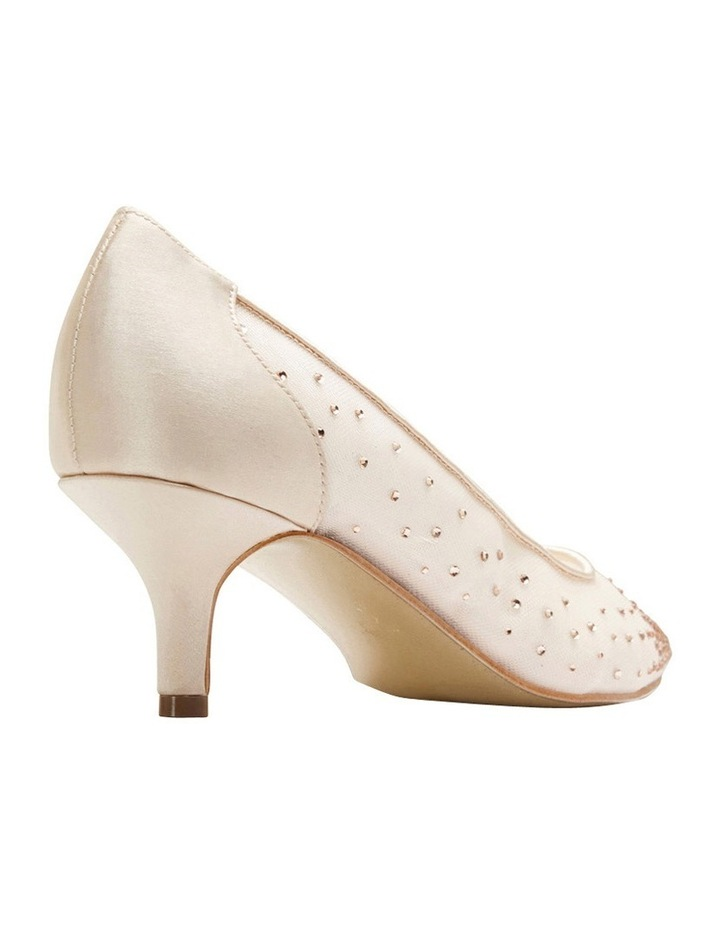 A.P.Too Spritz Baby Pink Satin Pump image 8
