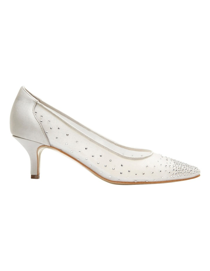 A.P.Too Spritz Silver Satin Pump image 1