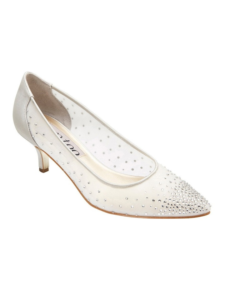 A.P.Too Spritz Silver Satin Pump image 2