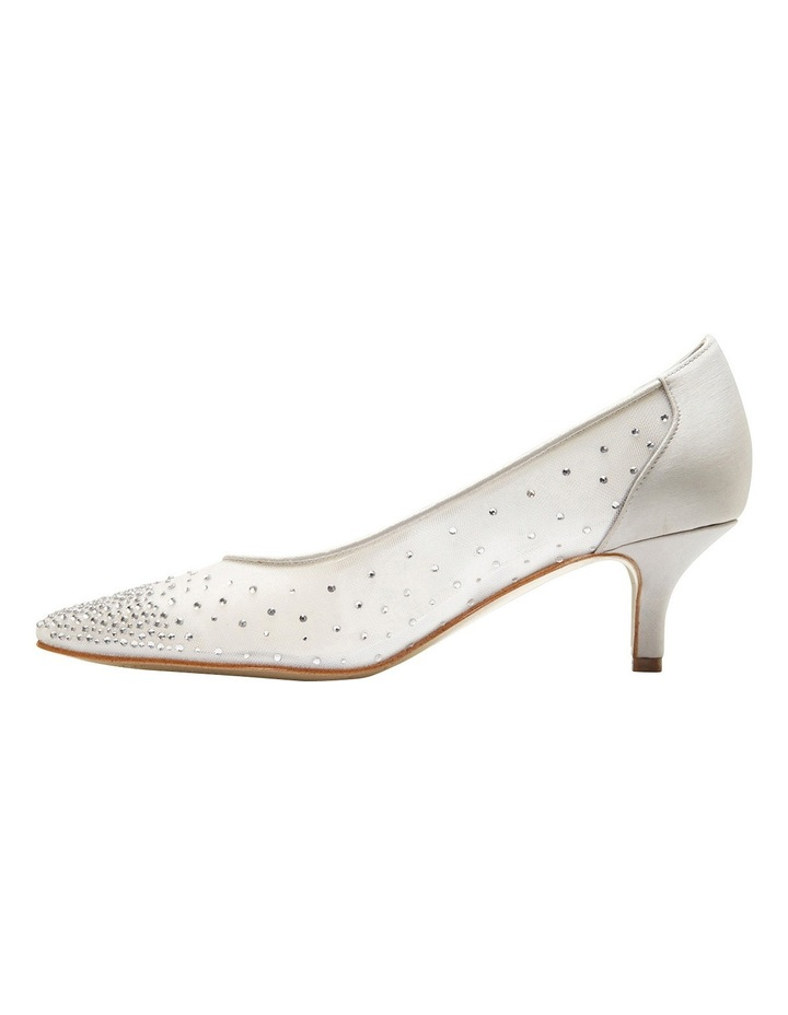 A.P.Too Spritz Silver Satin Pump image 3