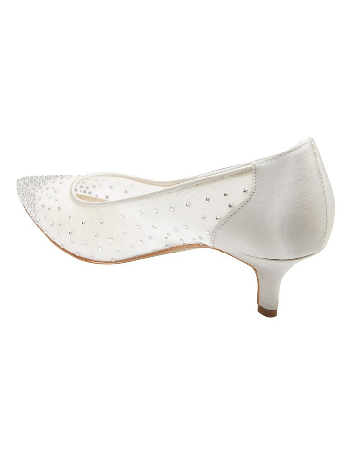 A.P.Too Spritz Silver Satin Pump image 4