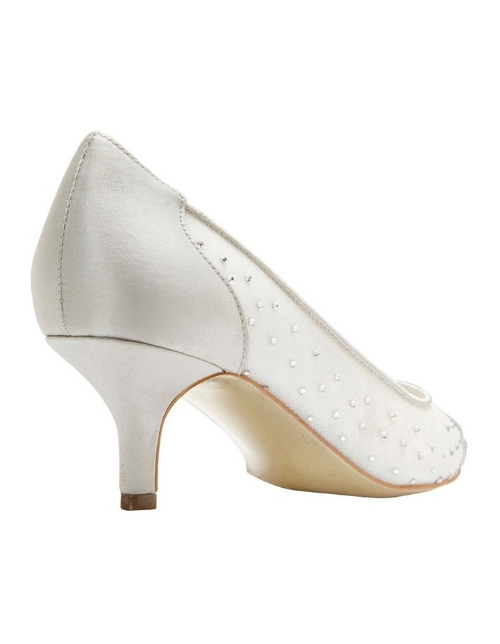 A.P.Too Spritz Silver Satin Pump image 8