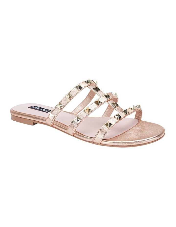 Spain rose gold sandal image 2