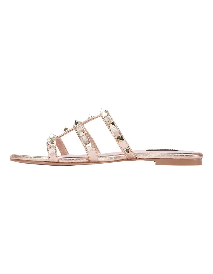 Spain rose gold sandal image 3