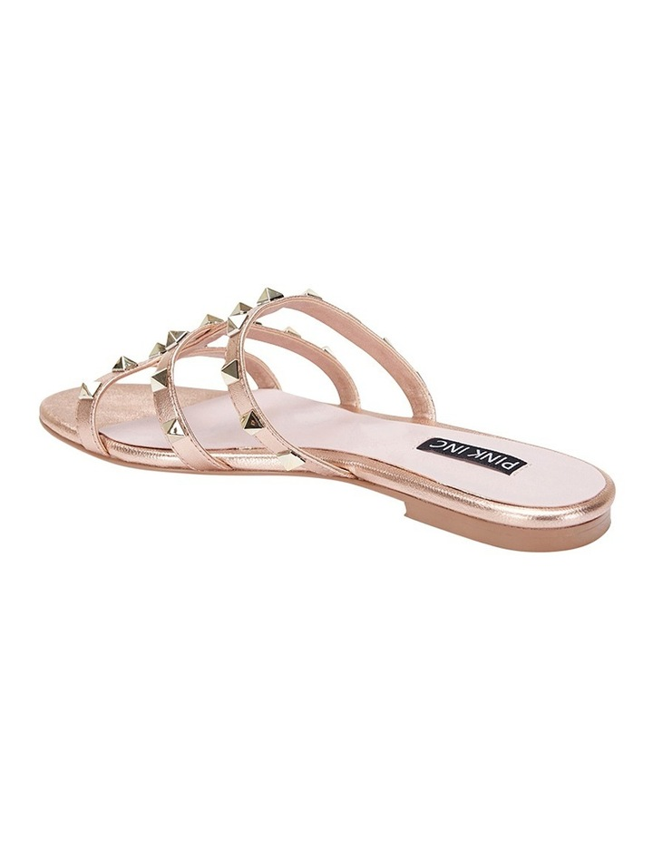 Spain rose gold sandal image 4