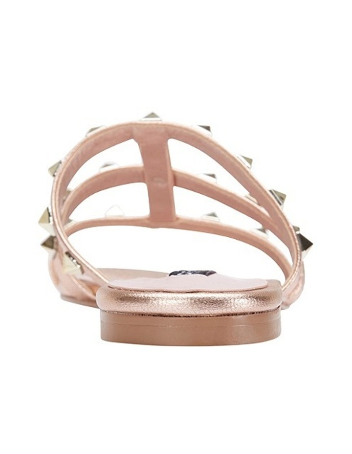 Spain rose gold sandal image 5