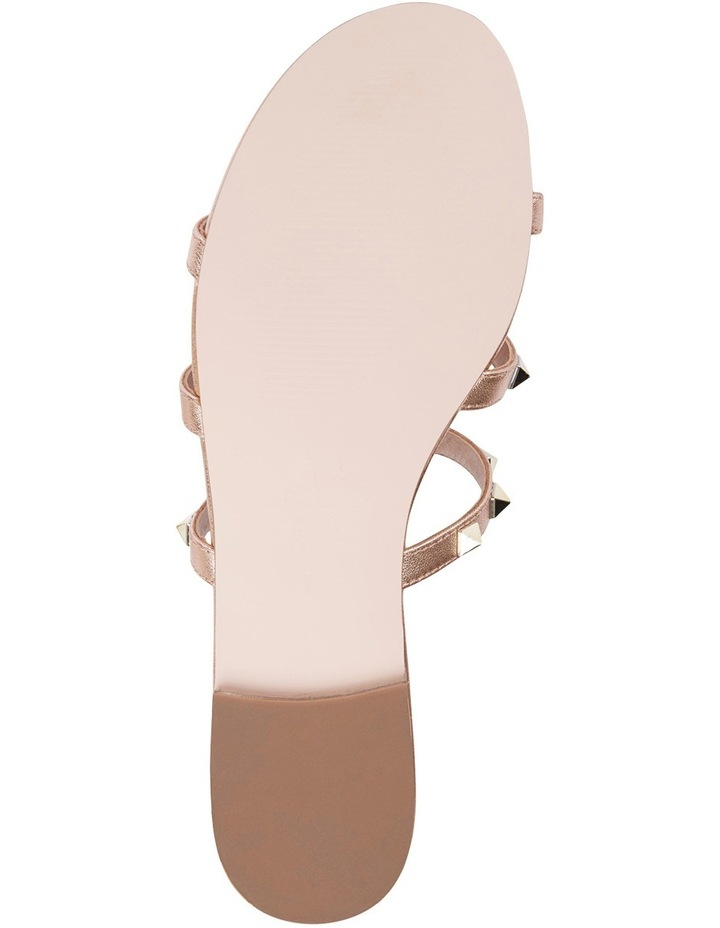 Spain rose gold sandal image 6