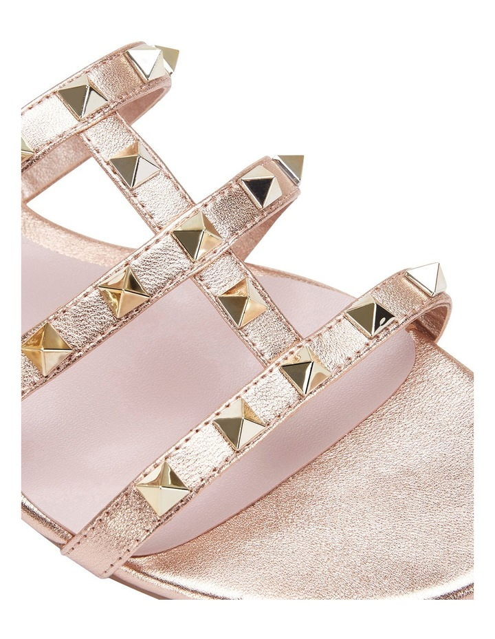 Spain rose gold sandal image 7