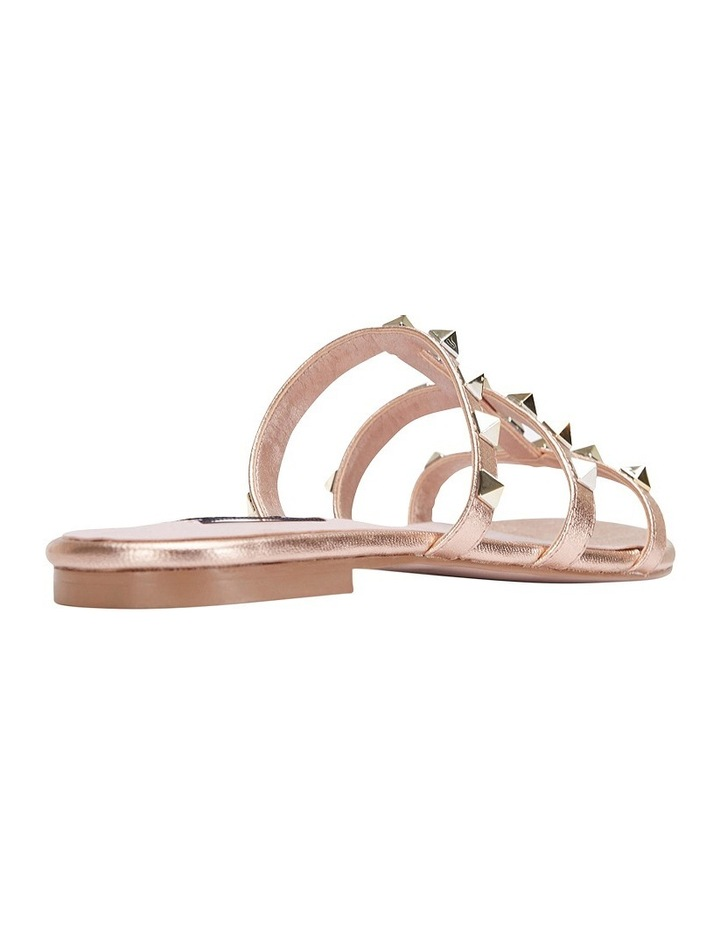 Spain rose gold sandal image 8