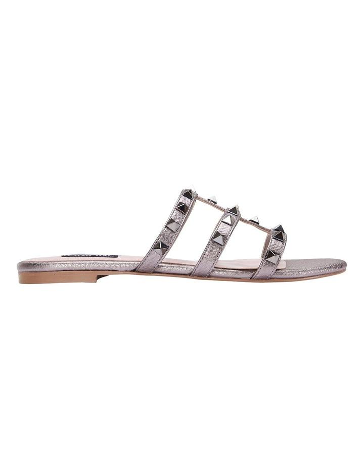 Spain pewter metallic sandal image 1