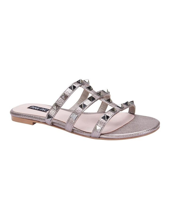 Spain pewter metallic sandal image 2