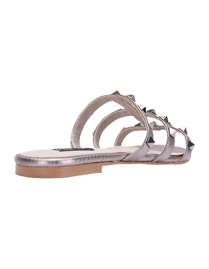 Spain pewter metallic sandal image 3