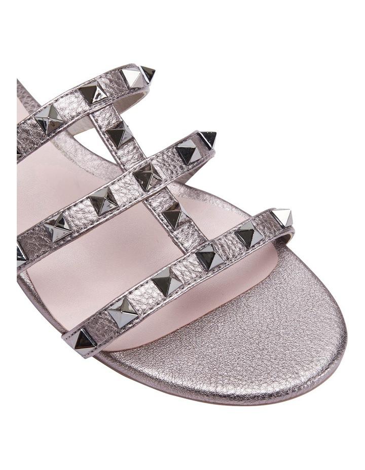 Spain pewter metallic sandal image 4