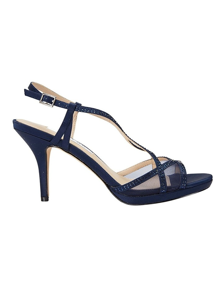 Blossom Navy Satin Pump image 1