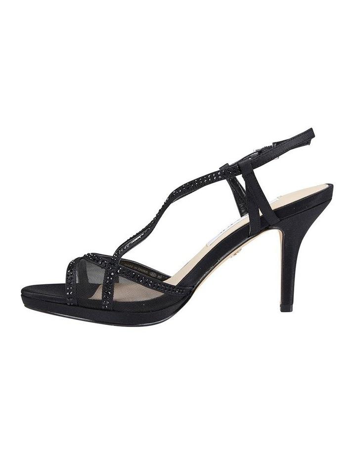 Blossom Black Satin Sandal image 3
