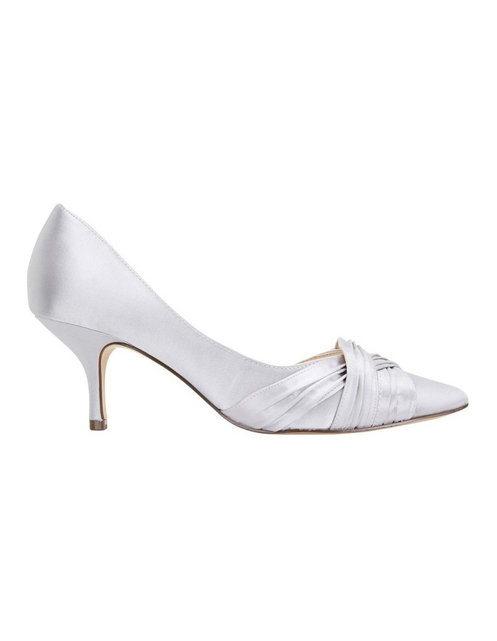 Blakely New Silver Satin Pump image 1