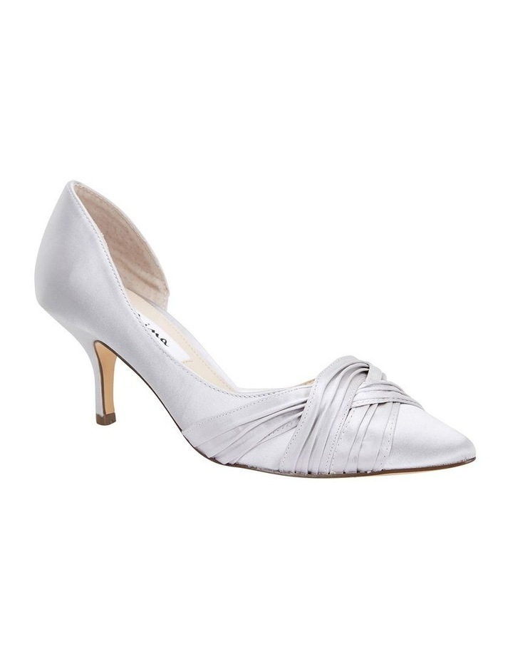 Blakely New Silver Satin Pump image 2
