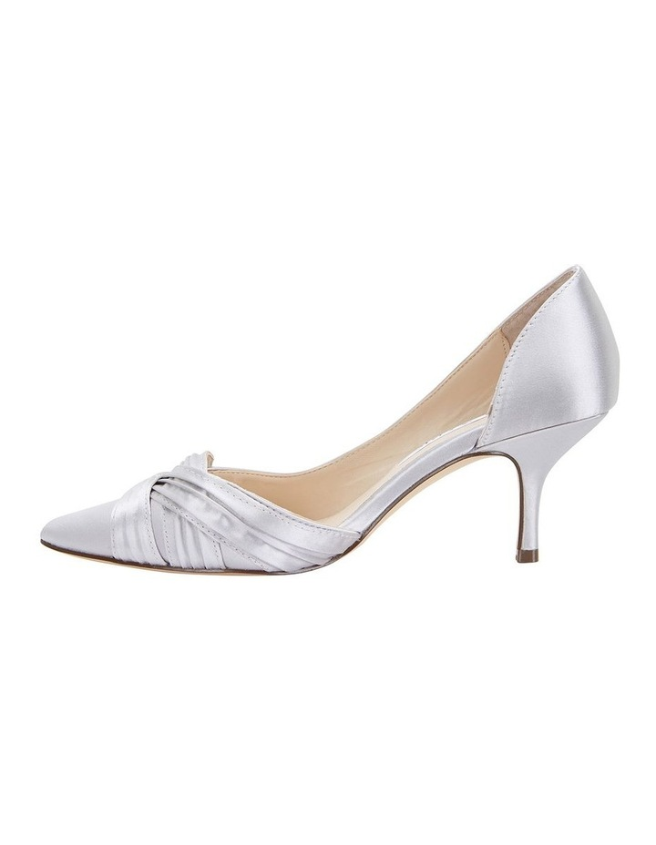 Blakely New Silver Satin Pump image 3