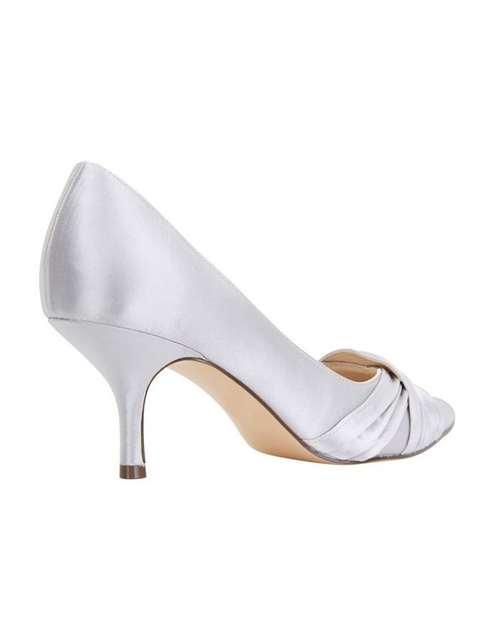 Blakely New Silver Satin Pump image 4