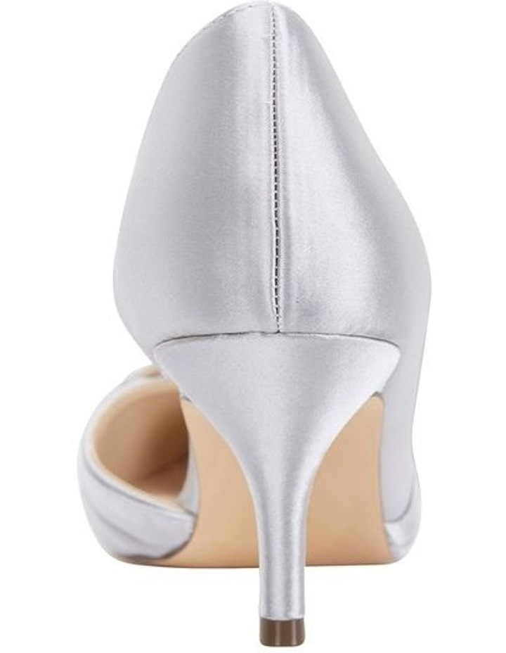 Blakely New Silver Satin Pump image 5