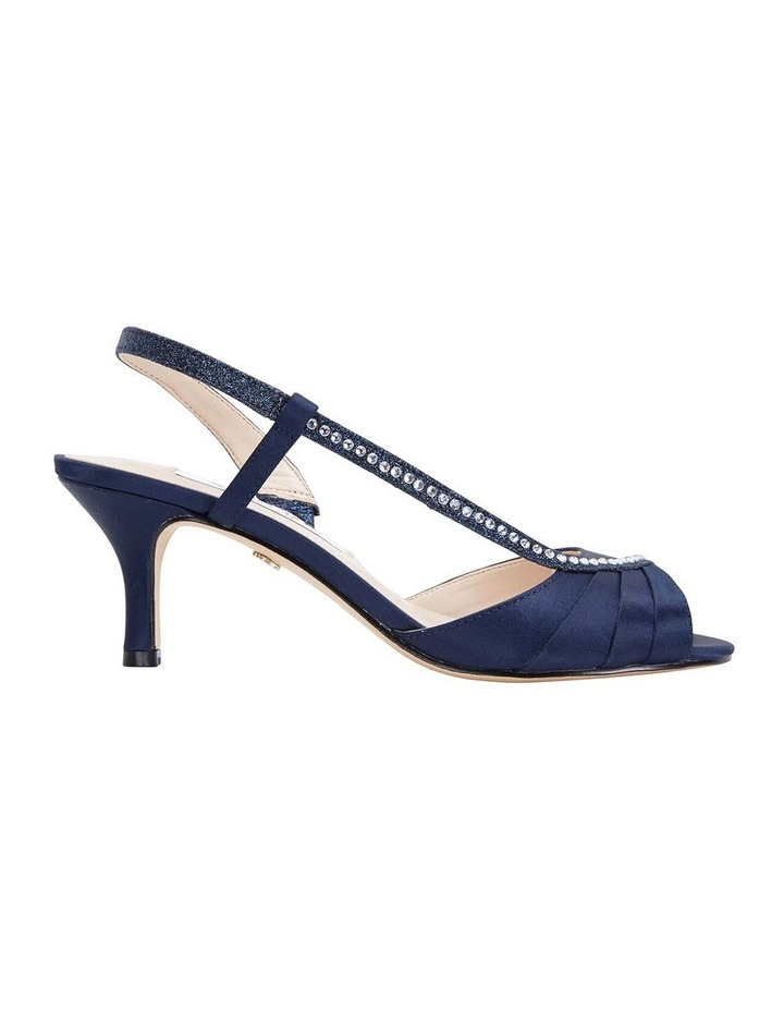 Cabell New Navy Satin Pump image 1