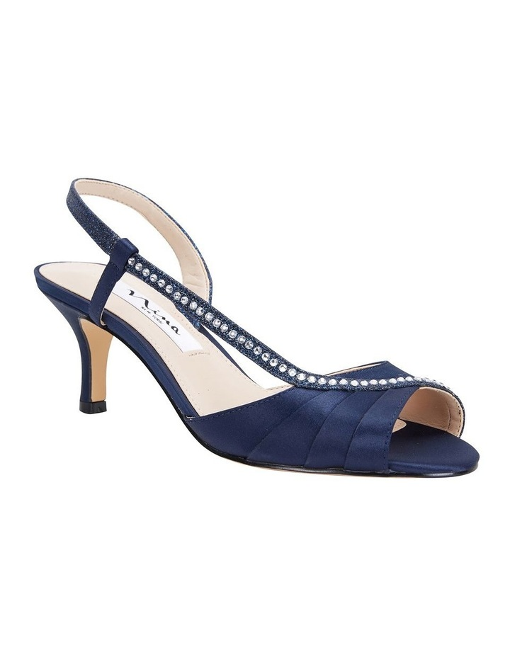 Cabell New Navy Satin Pump image 2