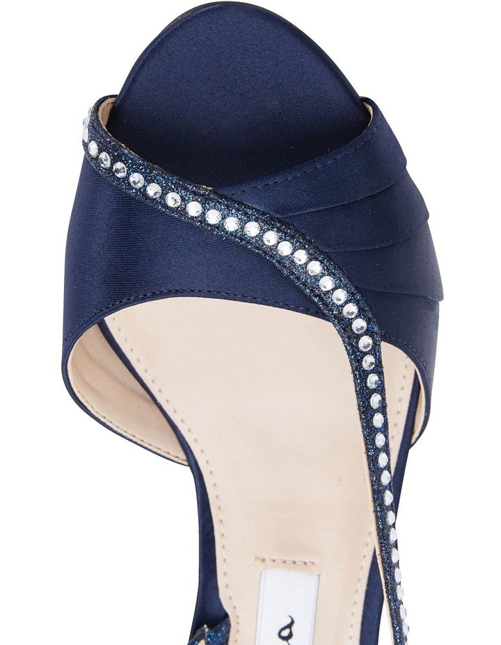 Cabell New Navy Satin Pump image 7