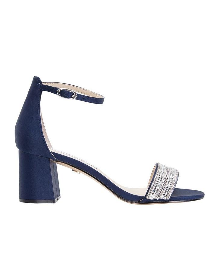 Elenora New Navy  Luster Satin Sandal image 1
