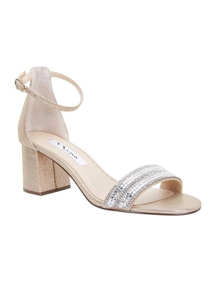 Elenora Taupe Ref Suedette Sandal image 2