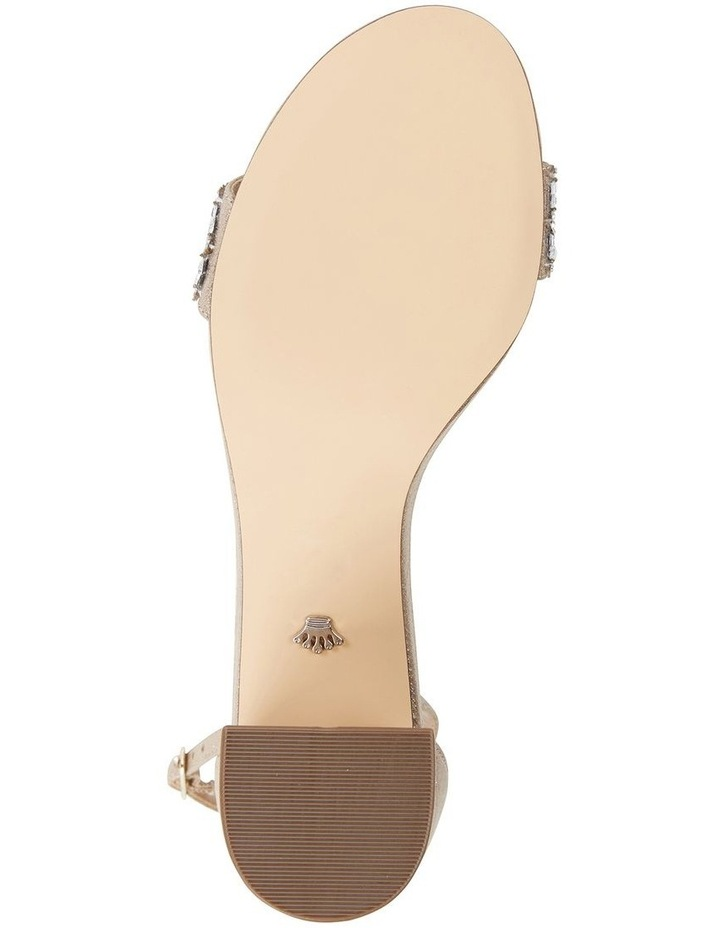 Elenora Taupe Ref Suedette Sandal image 6