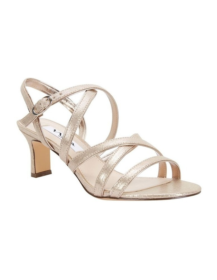 Genaya Taupe Reflective Suede Sandal image 2
